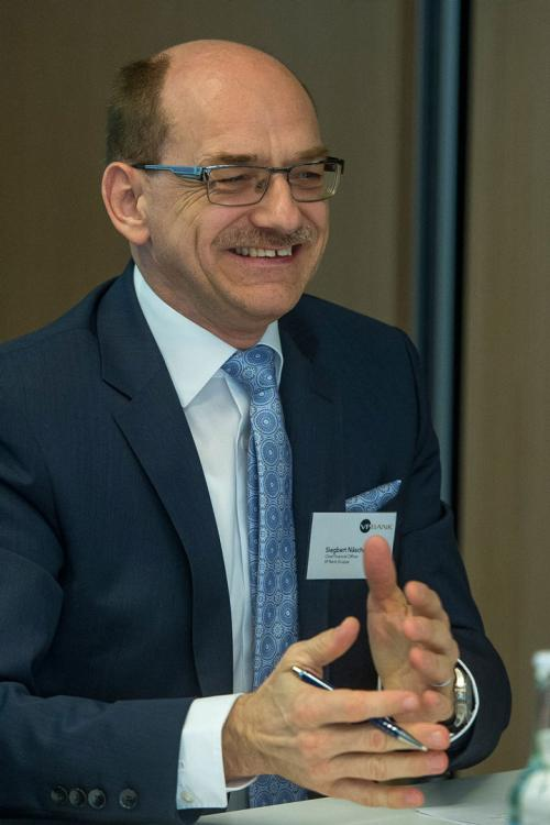 Siegbert Näscher - CFO of VP Bank Group